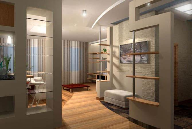 Дизайн 1-комнатной квартиры п44т
