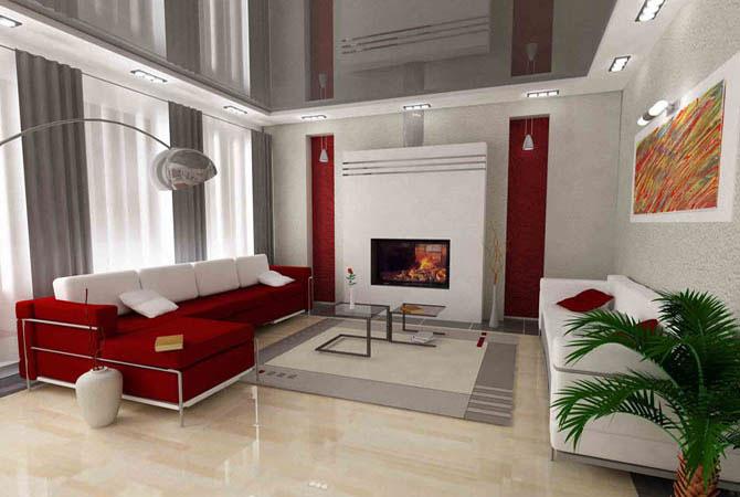 Дизайн трехкомнатной квартиры 60 кв.м