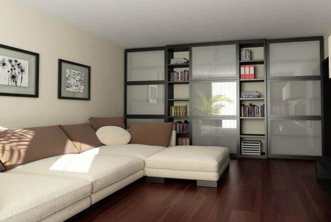 дизайн интерьера двухкомнатной квартиры фото: