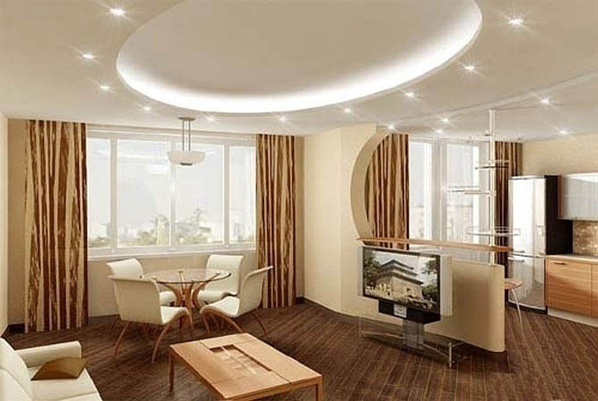Дизайн интерьер квартиры в