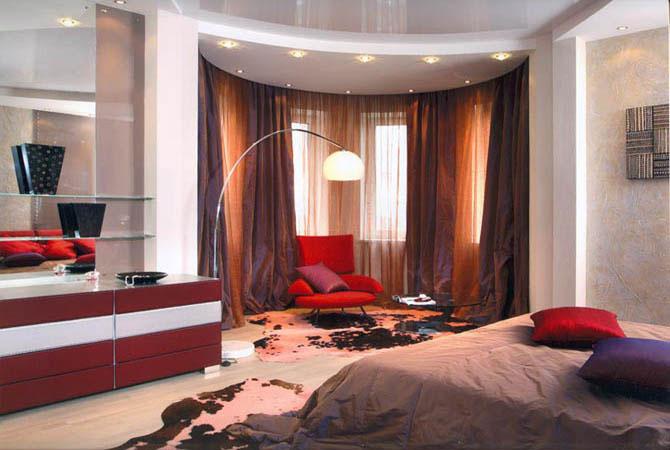 Интерьеры комнат с ламинатом